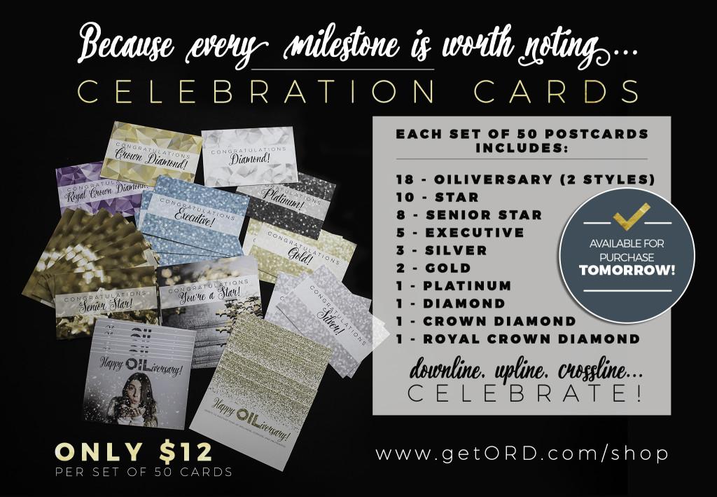 celebration cards TOMORROW