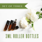 set of 3 roller bottles