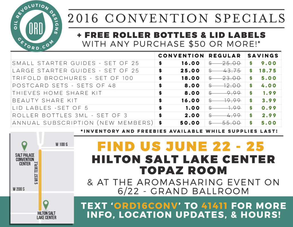 convention 2016 overview